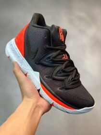 los angeles dbd87 62a55 Nike Kyrie 5 Black Red Mens Basketball Shoes Irving Sneakers