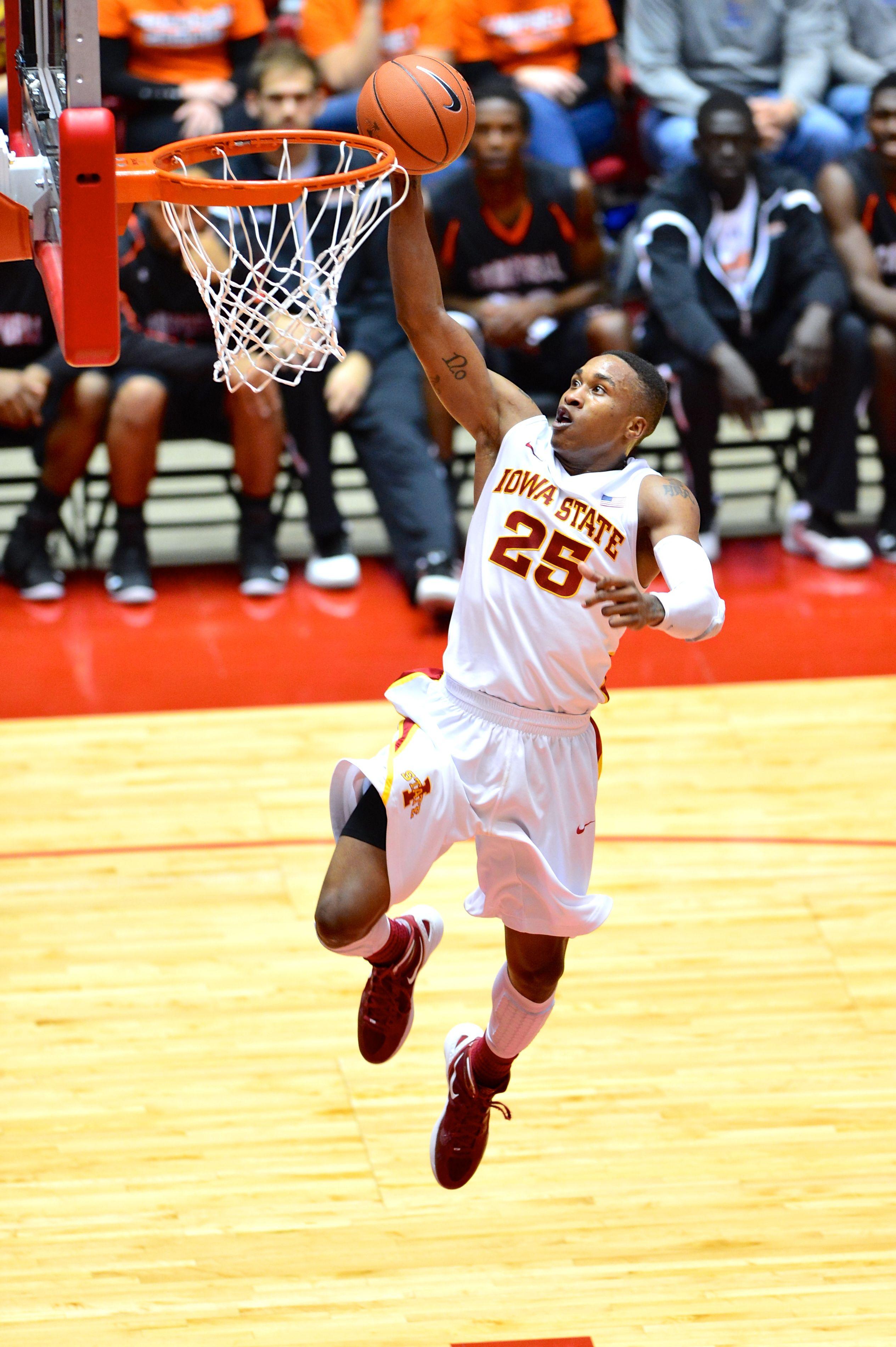 Men's Basketball...25 Tyrus McGee! Iowa state