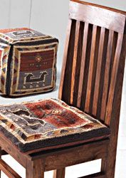Super Birdsong Kilim Pre Filled Seat Cushion Chair Pads Chair Download Free Architecture Designs Rallybritishbridgeorg