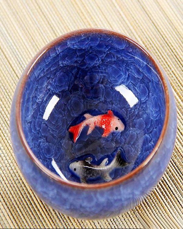 40 Beautiful 3d Aquarium Painting Ideas Free Jupiter Fish Art Koi Fish Cup Art