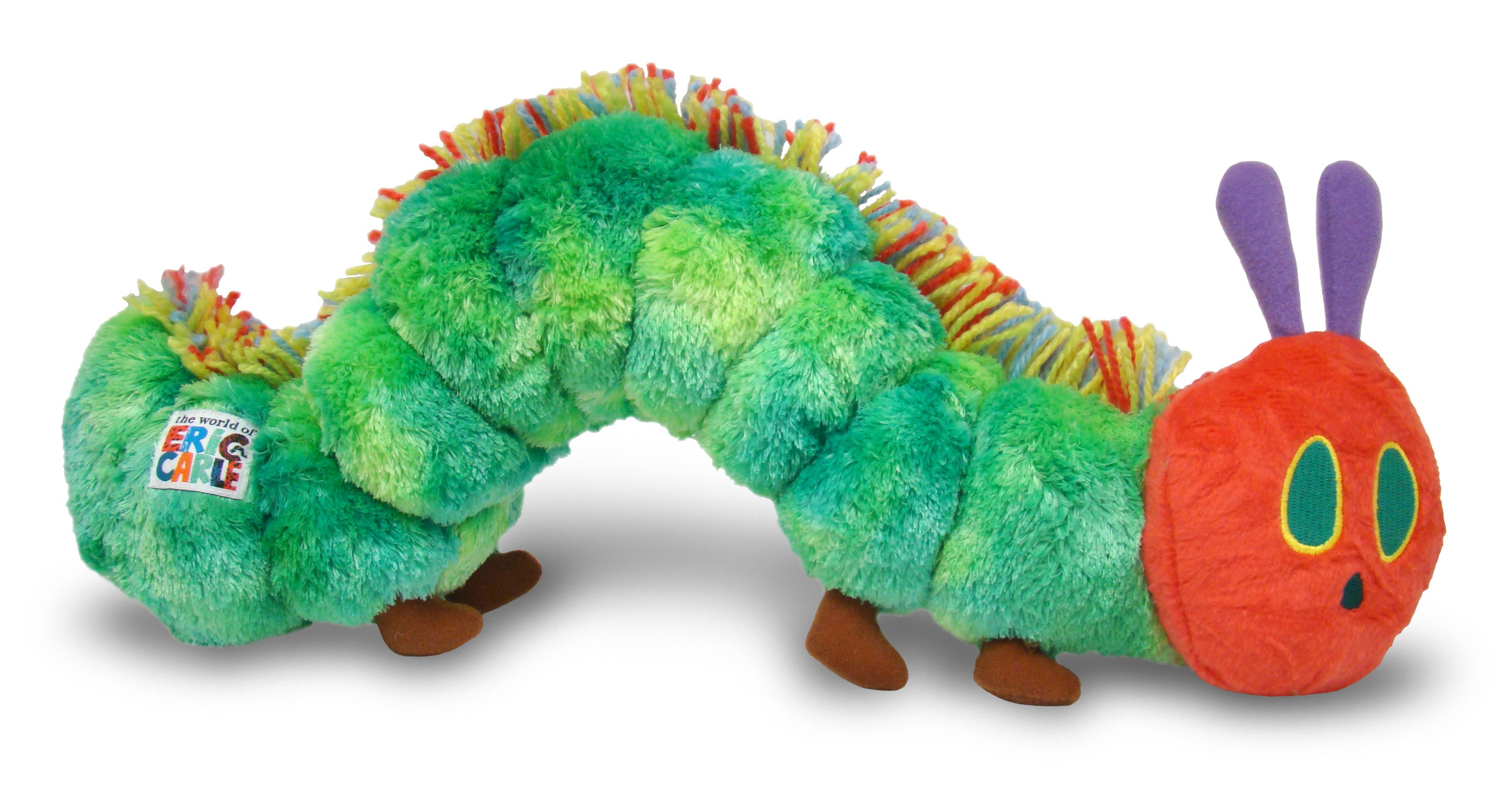 The Very Hungry Caterpillar Large Plush By Kids Preferred This