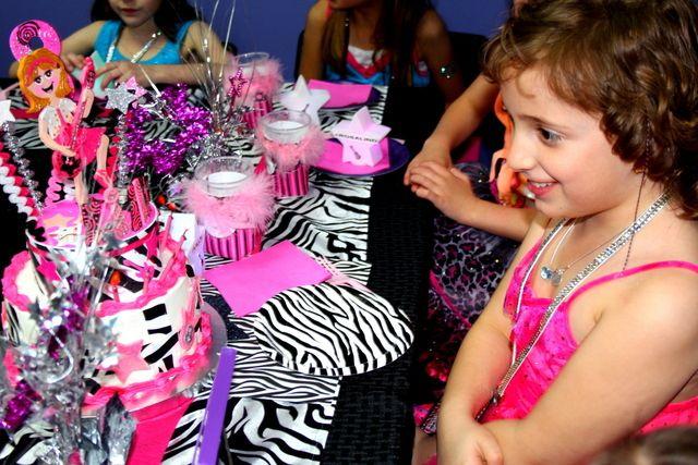 Rock Star Birthday cake topper children or birthday party centerpiece