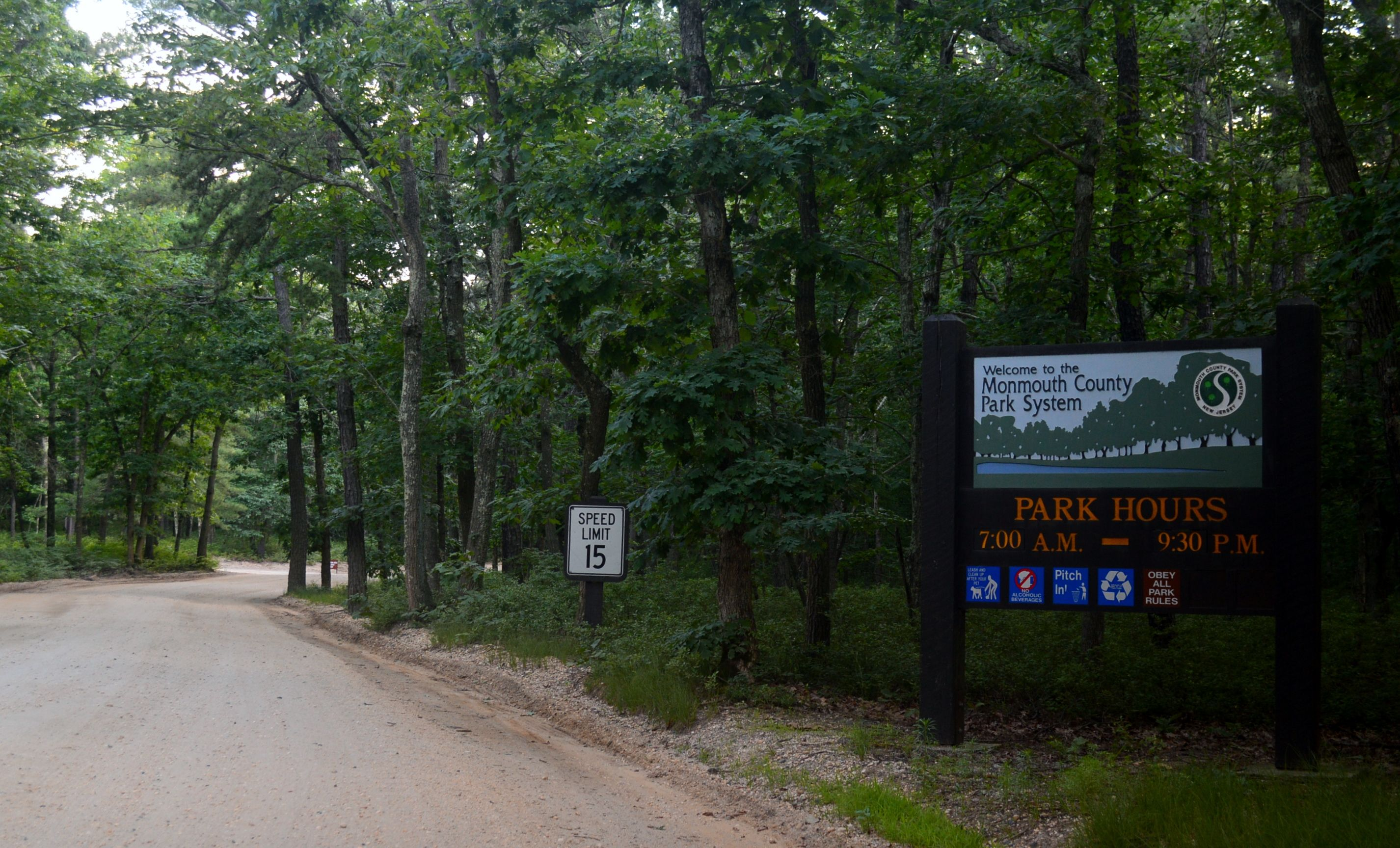 Turkey Swamp Park is part of the Monmouth County park