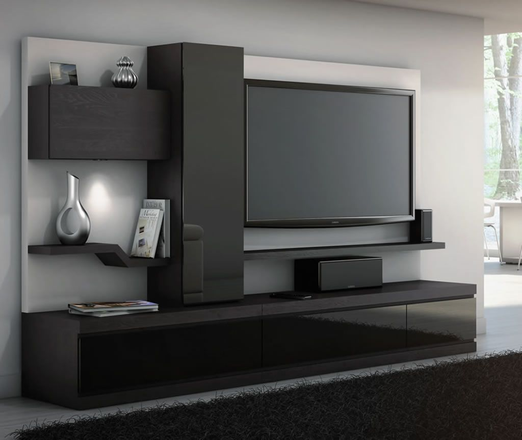 home theater furniture. Linea, Credenza With Storage Unit, Home Theater Furniture Collection From JSP Industries