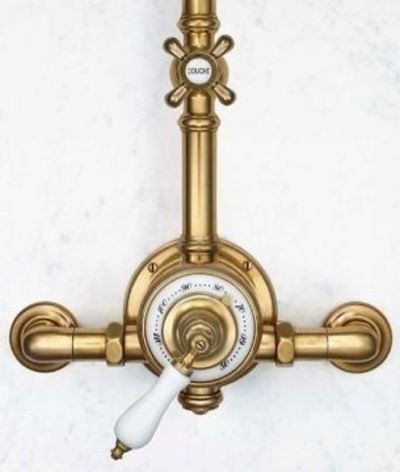Photo of Antique brass shower fittings for 2020