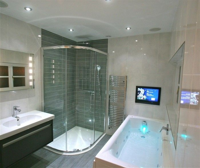 Badezimmereinrichtung Trends High Tech Badezimmer Smart Badewanne ...