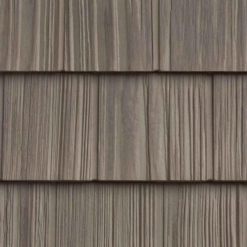 The Foundry 7in Vinyl Weathered Split Shake 1 Square 806 Golden Straw In 2020 Vinyl Shake Siding Vinyl Siding Grey Vinyl Siding