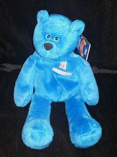 Detroit Lions Charlie Batch Bear Plush 9 Stuffed Animal Limited