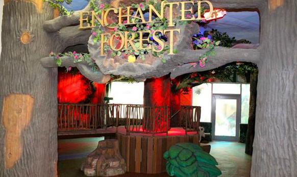 Wood Entrance Enchanted forest, Outdoor areas, Garden