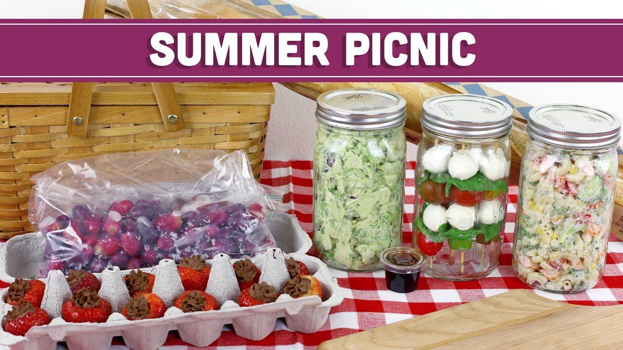 Summer Picnic Menu + Vegan Nutella | Healthy Lunch Recipes - Mind Over M...