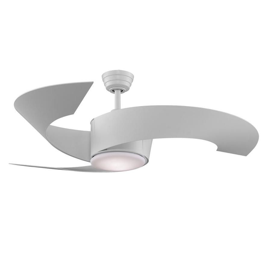 Fanimation torto 52 in matte white indooroutdoor downrod mount fanimation torto 52 in matte white indooroutdoor downrod mount ceiling fan with light kit and remote 3 blade fp7900mw aloadofball Gallery