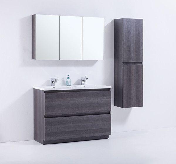 Brunswick Golden Elite 46 Grey Oak Modern Bathroom Vanity