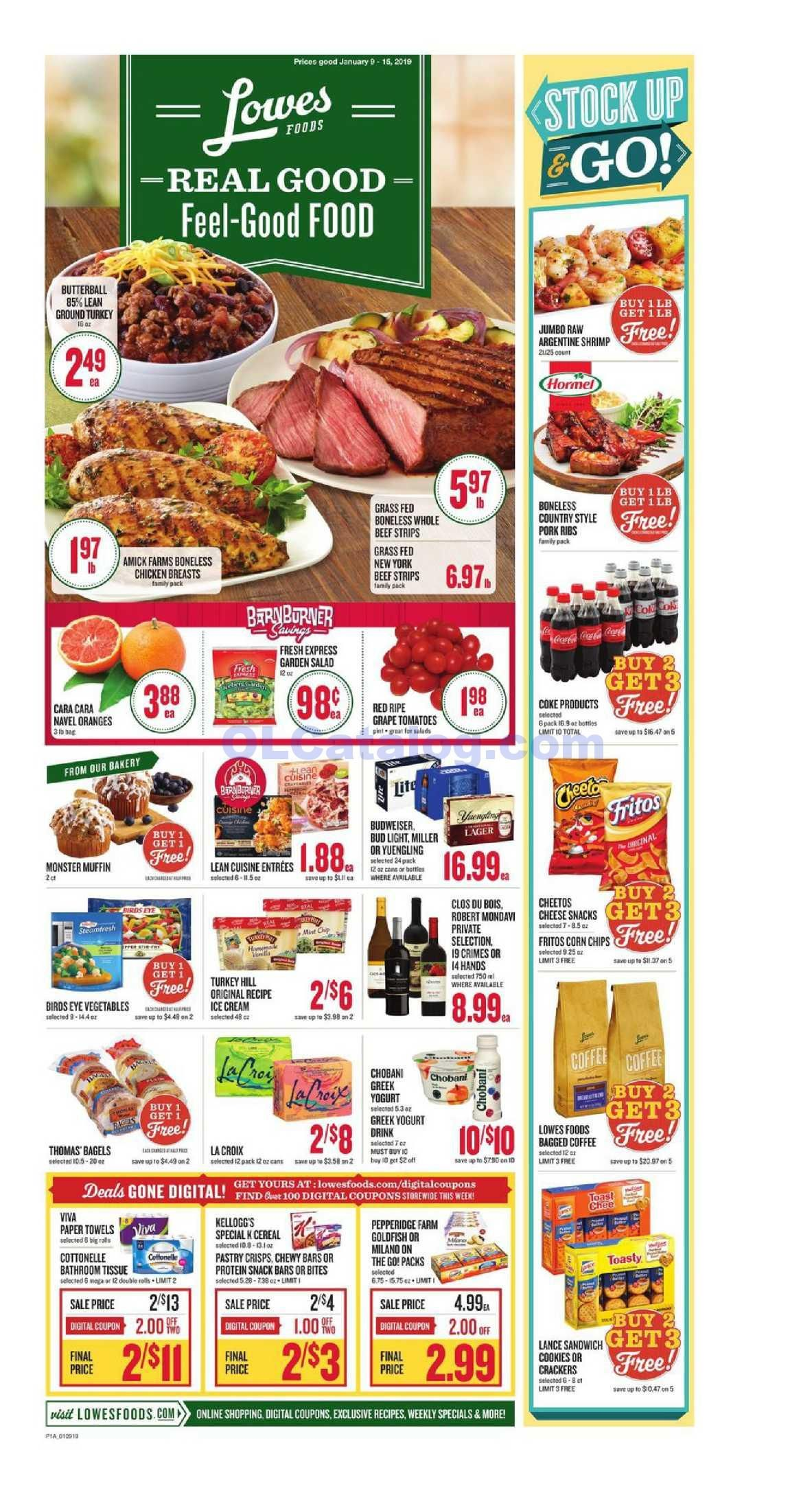 Lowes foods Weekly Ad January 9 15, 2019. View the