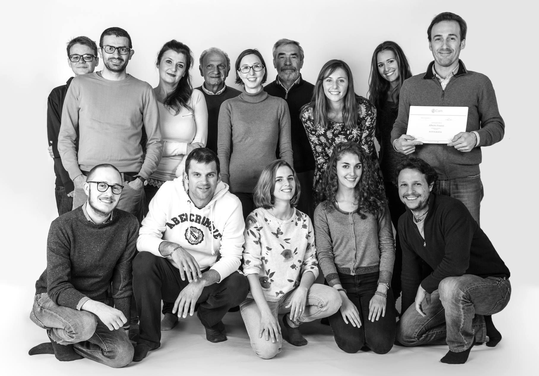 I corsisti del terzo corso base del 2015.