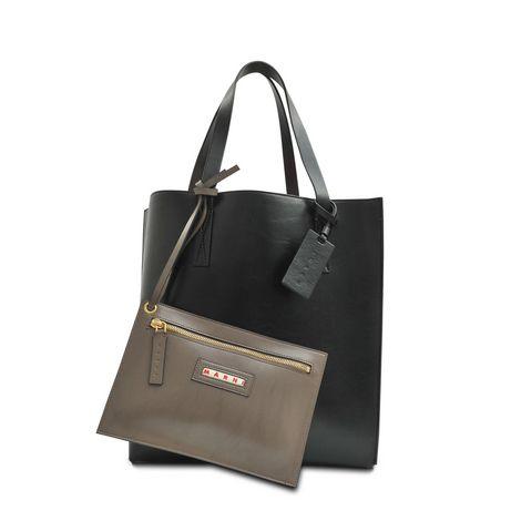 Marni Shopping bag Eco Patent tricolore