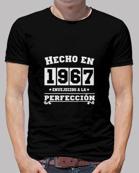 Camiseta Hecho en 1967 Modelos De Camisetas 1a0f42e51aa5e