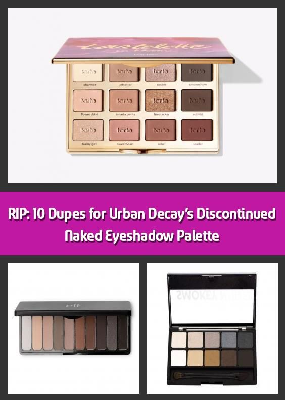 Photo of RIP: 10 Dupes für Urban Decay's Discontinued