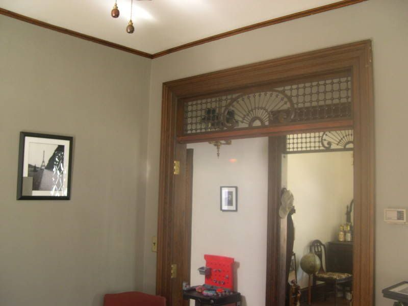 Wall colors for rooms with dark woodwork?? - Home ...