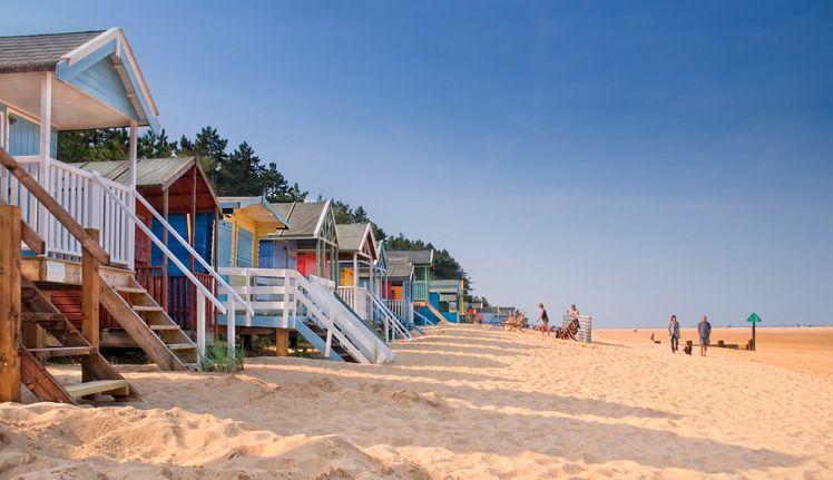 Id Sn Wel 07 Wells Beach Huts Seaside Stuff