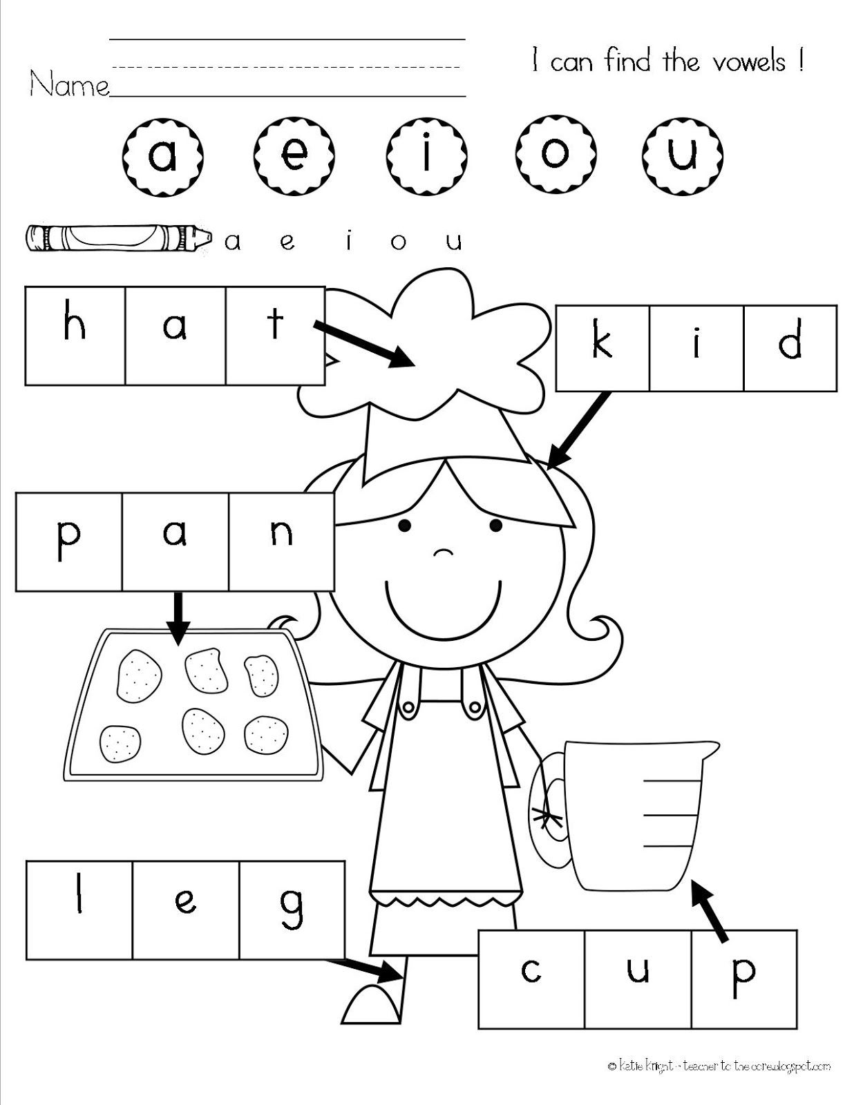 Teacher To The Core Chicka Chicka Boom Boom First Grade Vowel Review My Kinders Are Not There