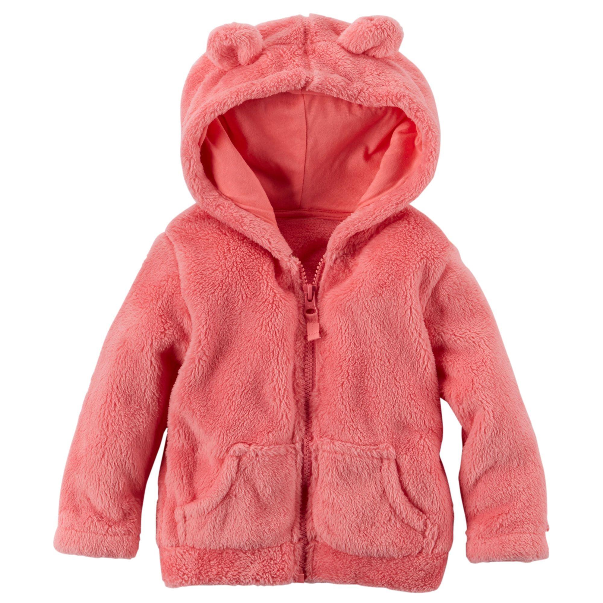 Baby Girl Snow Fleece Hoodie | Carters.com | Fashion for the ...
