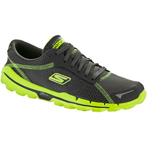 Skechers Gorun 2: Skechers Men's Running Shoes Charcoal/lime
