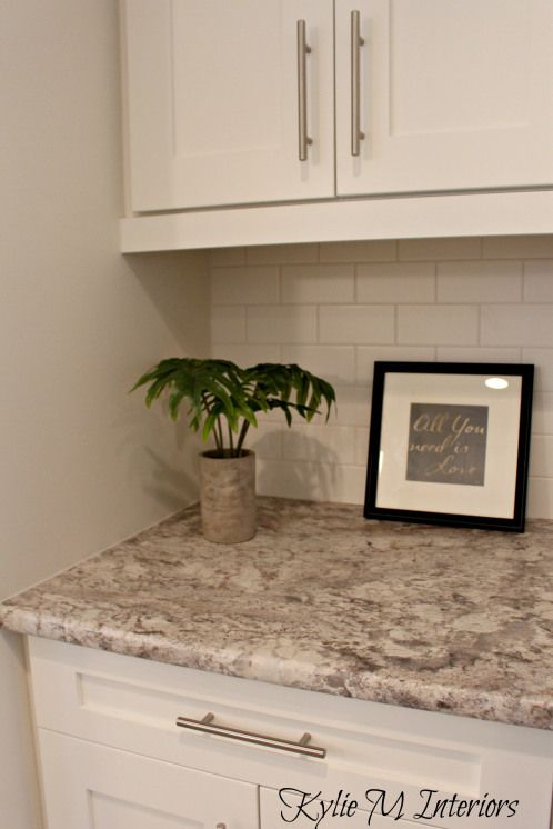 The new era of laminate countertops and why they rock for Painting white laminate kitchen cabinets