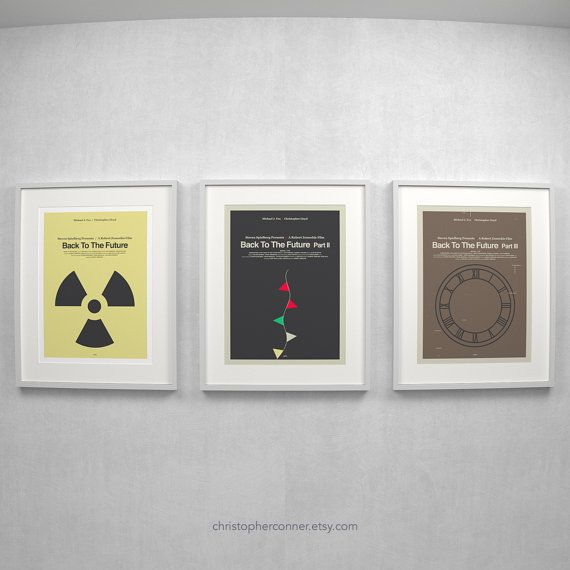 These 12x16 art prints are Inspired by the Back to the Future ...