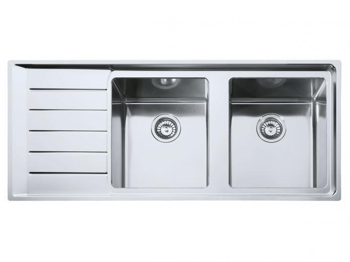 Franke Neptune Plus Double Bowl Sink Npx621 Rhb 899 Bowl Sink