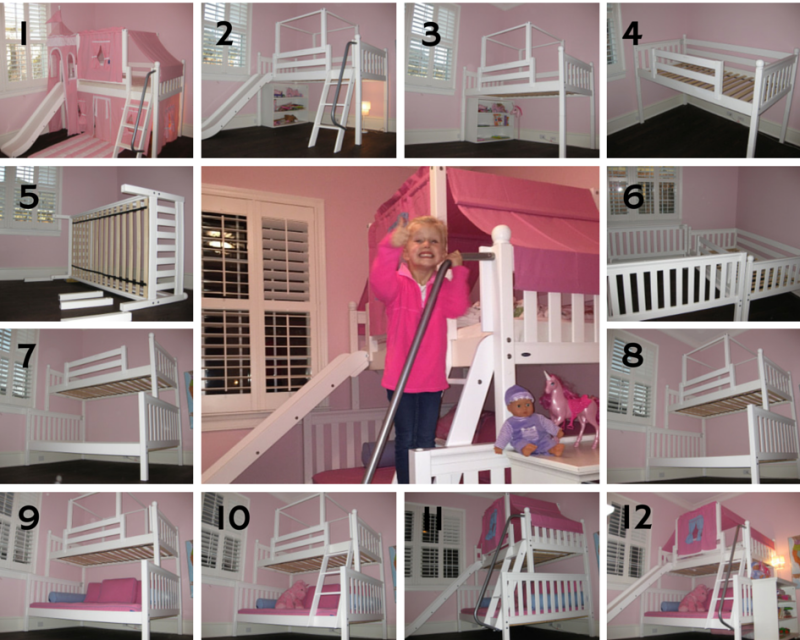 Princess Bed   Every Little Girl Wants One Of These! | The Princess Diaries  | Pinterest | Girls Princess Bedroom, Princess Bedrooms And Full Bunk Beds