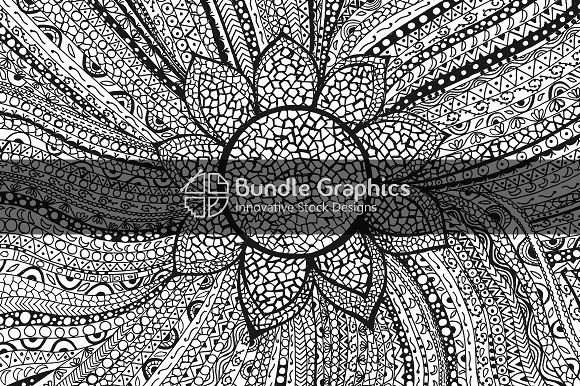 Tribal Linear Decorative-Ink Graphic Graphics **Tribal
