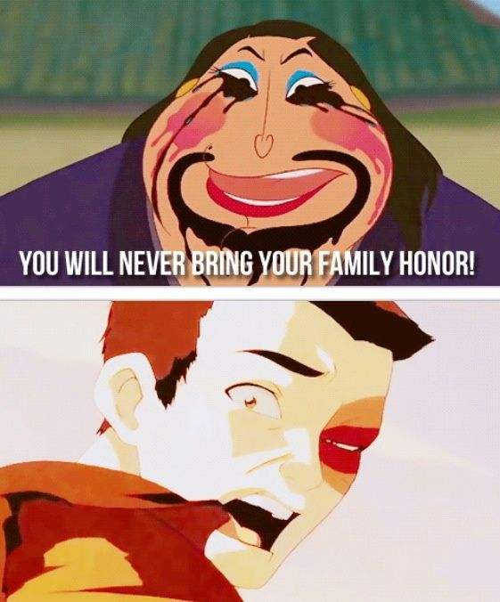 Prince Zuko meets the Matchmaker from Mulan. Oh my god XD