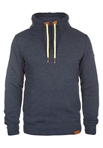 Deal des Tages Sweatshirt Stehkragen = Angebot 49% Geld sparen ...   SOLID TripTube Sweatshirt, Größe:S;Farbe:Insignia Blue Melange (8991) !Solid http://www.amazon.de/dp/B014WD3E94/ref=cm_sw_r_pi_dp_DBIbxb13ETNYW