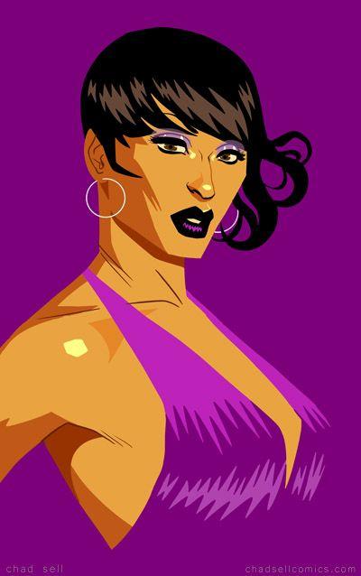 Tatianna - Purple