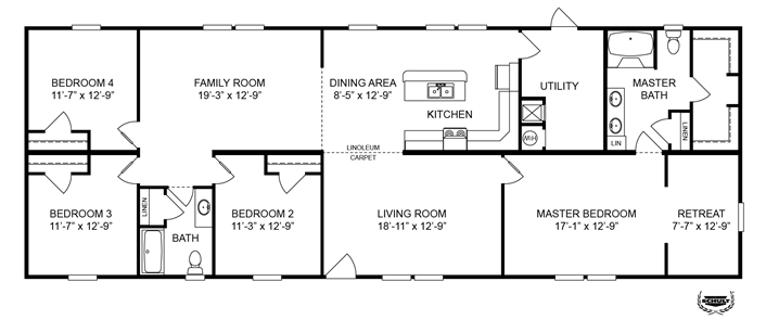 Vintage Floor Plan Modular Home Plans Modular Homes Modular Floor Plans