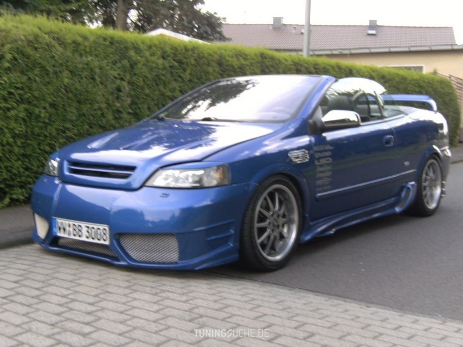 Opel Astra G Cabriolet 11 2001 Von Bbtuning Bildergalerie Tuningsuche De