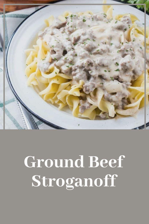 Photo of Ground Beef Stroganoff