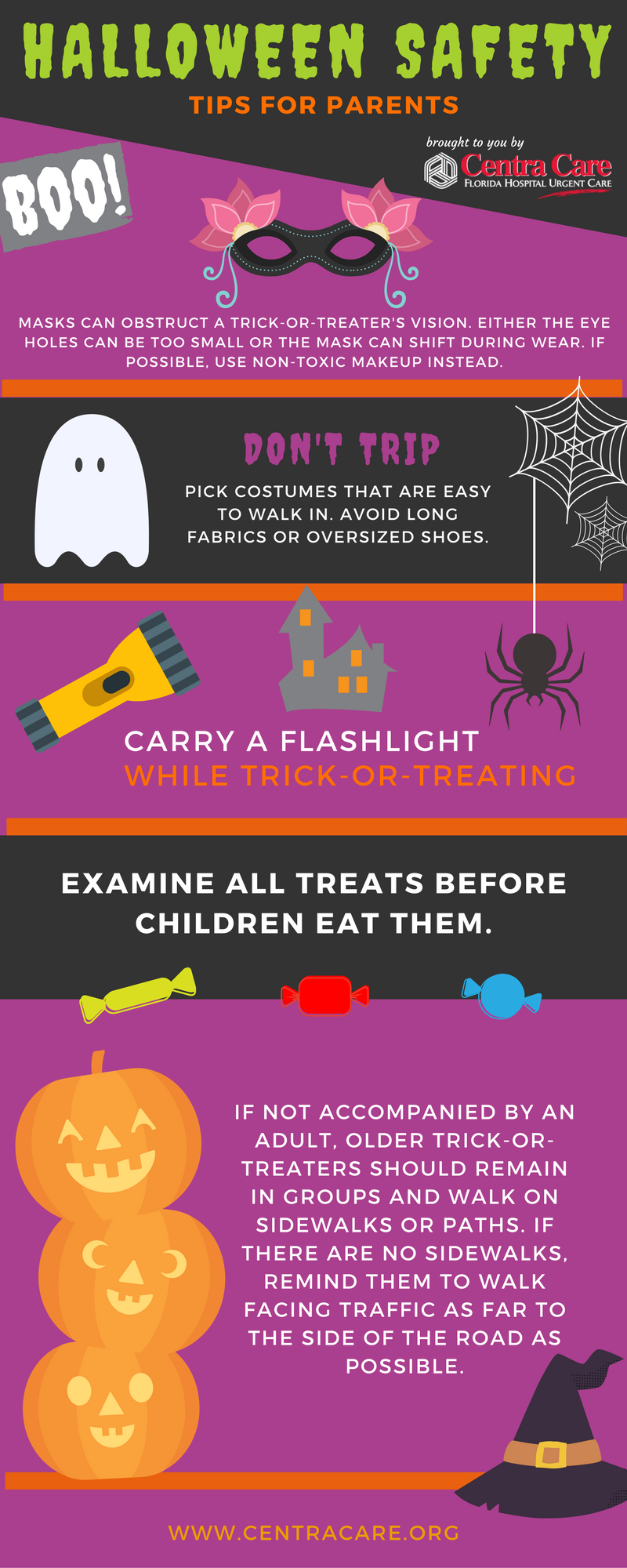 halloween safety tips for boos and ghouls young u0026 old what u0027s