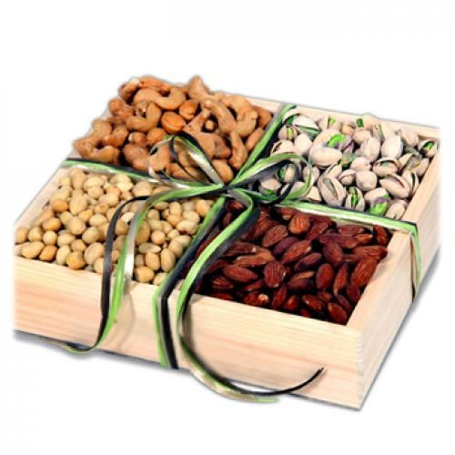 Nuts About Nuts Gift Crate to USA