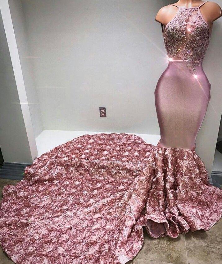 4de3cf523f576 Pinterest:@jalissalyons | Prom Dresses in 2019 | Dresses, Mermaid ...