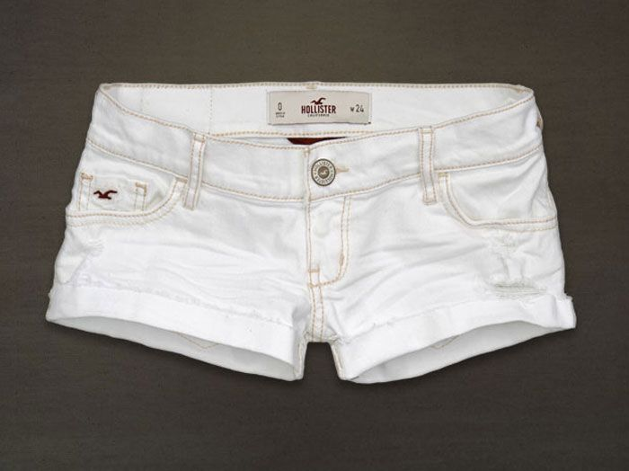 I NEED white Hollister shorts this SUMMER!!!