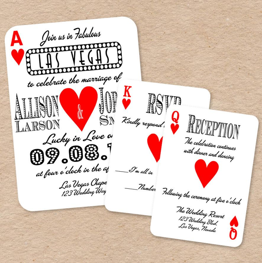 playing card invitation template | Playing Card Invitations free for ...