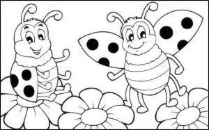 Uğur Böceği Boyama Boyama Pinterest Easter Ve Spring