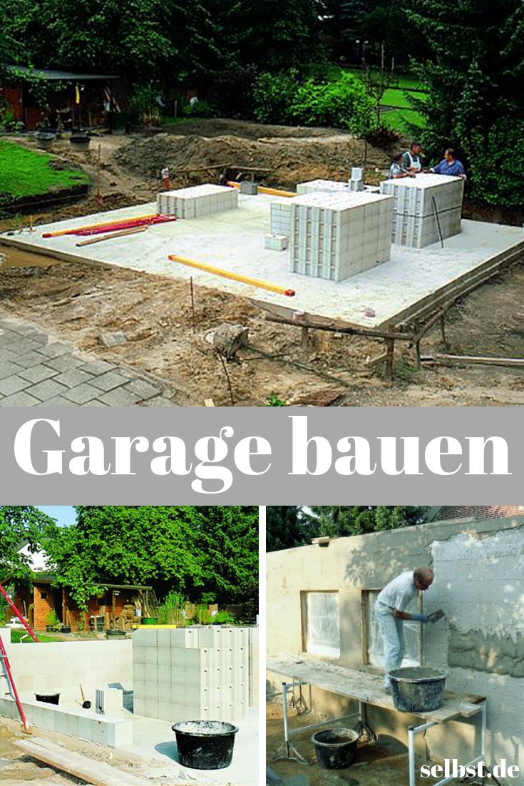 Garage bauen Garage bauen, Garage bauen kosten, Garage