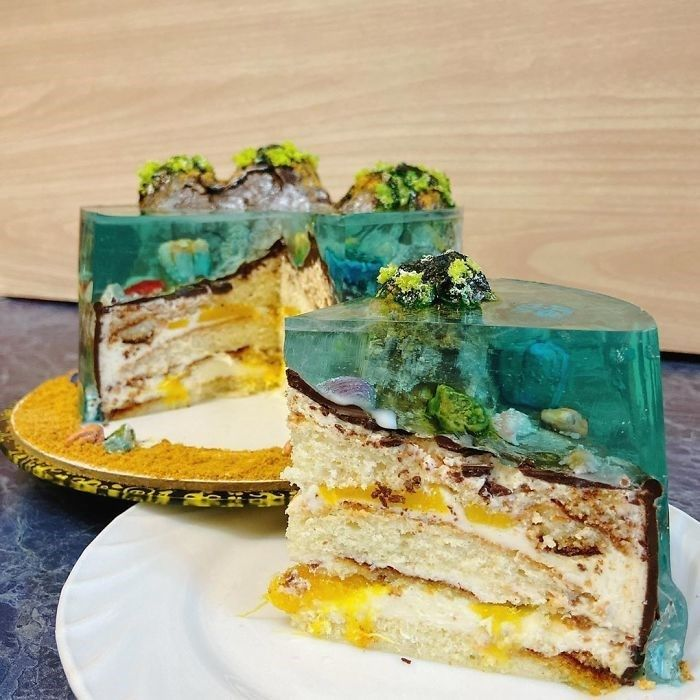 Realistic Paradise Island Cakes Almost Too Beautif