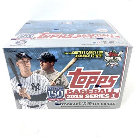 Topps 2019 Baseball Series 1 Trading Cards Display Box Retail