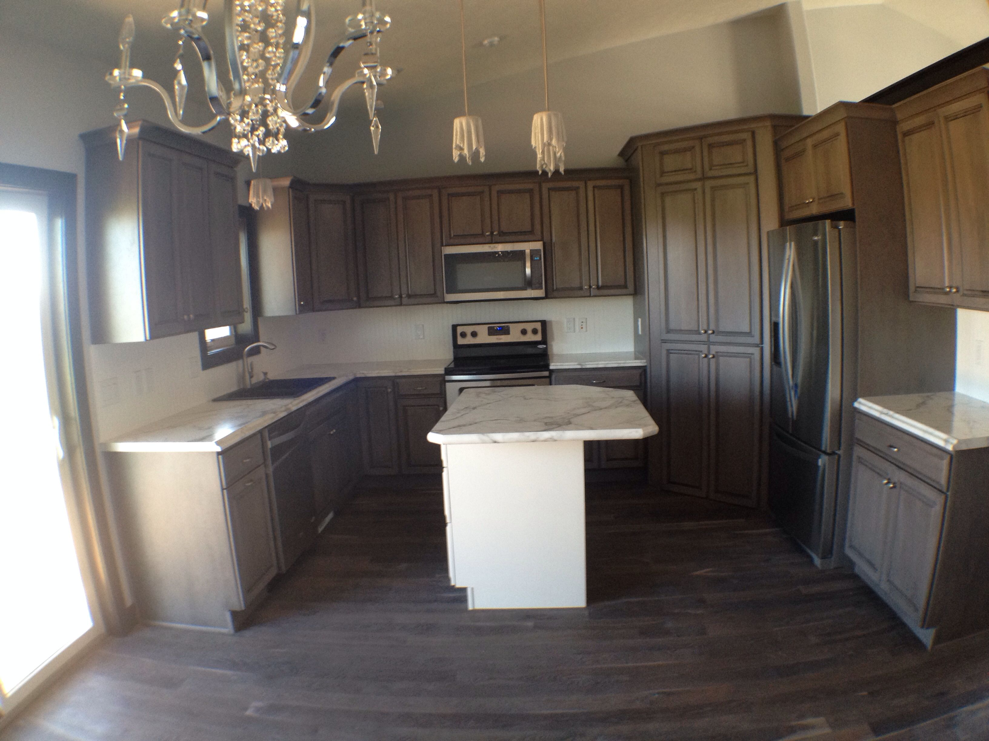 Best Driftwood Ebony Gray Cabinets And Gray Stained White Oak 400 x 300