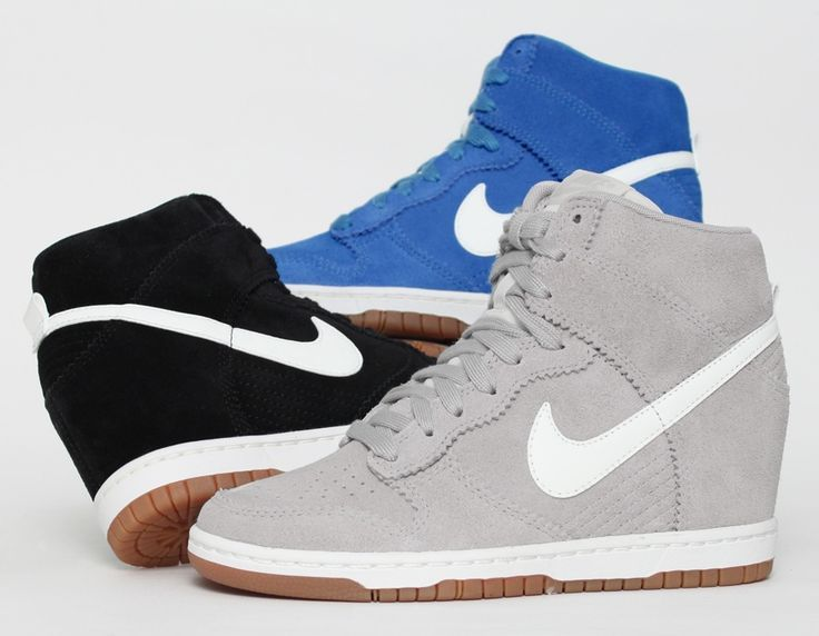 Nike WMNS Dunk Sky Hi - July 2013 Releases - The black & white or grey &  white
