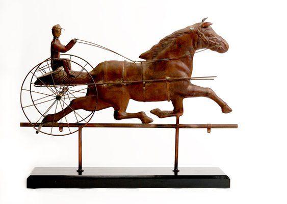 Vintage Weather Vane: Antique Copper Weathervane