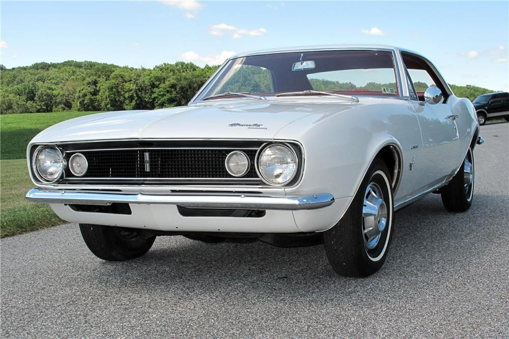 1967 CHEVROLET CAMARO 2 DOOR COUPE – Barrett-Jackson Auction Company – World's Greatest Collector Car Auctions